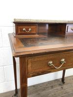 Antique Edwardian Mahogany Bonheur Du Jour Desk (12 of 15)