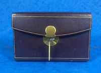Victorian Leather Dated Pocket Book (2 of 14)