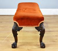 Antique Queen Anne Style Foot Stool (5 of 8)