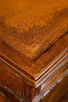 Late 19th Century Walnut Pedestal Desk (7 of 7)