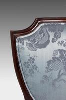 Set of Six Late 19th Century Hepplewhite Design Chairs (11 of 12)