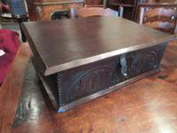Early Period Antique Oak Deed Box c.1700 (7 of 7)