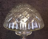 Quality Cut Glass Mushroom Table Lamp (3 of 6)