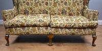 Queen Anne Style Wing Back Sofa (6 of 10)