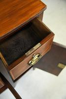 Antique Mahogany Side Cabinet (8 of 8)
