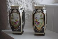 Pair of Early 20th Century Japanese Noritake Vases (2 of 10)
