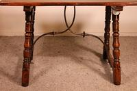 Spanish Table from the 16th Century in Walnut (11 of 13)