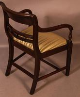 Good Set of 8 Regency Period Dining Chairs in Mahogany (4 of 13)