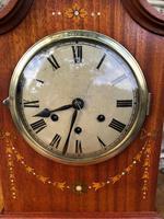 Antique Inlaid Mahogany Bracket Clock (2 of 8)