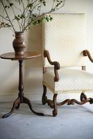 Mahogany Oval Tripod Table (2 of 12)