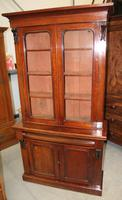 1910's Mahogany Chiffonier Bookcase with Glazed Top (2 of 5)