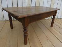 Antique French Ash Coffee Table (8 of 8)