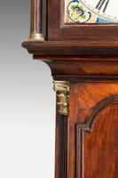 19th Century Mahogany Painted Dial Longcase Clock (3 of 6)