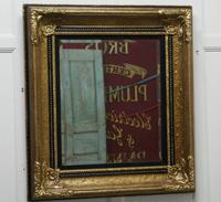 Rectangular Gilt and Black Rococo Wall Mirror (4 of 6)