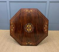 Inlaid Rosewood Table by James Shoolbred (5 of 11)