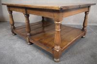 Solid Oak Rectangular Coffee Table (10 of 11)