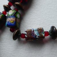 Venetian Glass Millefiore Bead Necklace (10 of 11)