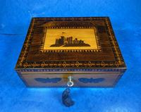 William IV Early Mosaic Tunbridge Ware Table Box (16 of 20)