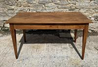 Small Antique French Elm Farmhouse Table (13 of 22)