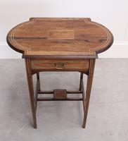 Edwardian Rosewood Occasional Table (2 of 7)