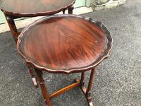 Antique Mahogany Nest 3 Tables (9 of 10)