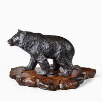 Large Meiji Period Bronze Bear by Genryusai Seiya (4 of 7)