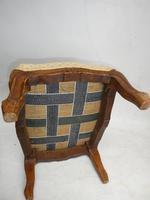 1920's Oblong Oak Footstool (3 of 5)