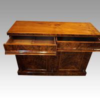 Victorian Burr Walnut Chiffonier Sideboard (5 of 9)