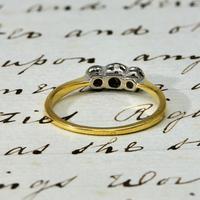 The Antique W.G&S Three Diamond Ring (3 of 3)