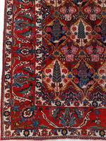 Antique Bakhtiari Rug with Sarv-o-kâdj Design (8 of 14)