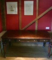 Elegant Gillows Style Mahogany Writing Table Desk (4 of 12)