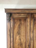 Large Victorian Mahogany Triple Compactum Wardrobe (8 of 11)