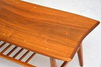 1960's Vintage Inlaid Walnut Coffee Table (3 of 9)
