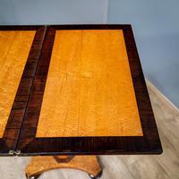 Bird's Eye Maple Folding Table (6 of 12)