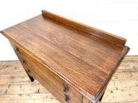 Early 20th Century Oak Chest of Drawers (7 of 9)