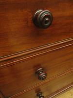 Antique Late 19th Century Mahogany Chest of Drawers, Country House Chest (2 of 15)