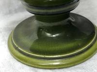 2 Fine Antique Victorian Art Nouveau Small Pottery Round Vases (3 of 8)