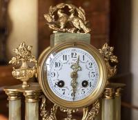 French Onyx Clock Set (2 of 3)