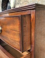 Large Regency Mahogany Bow Front Chest of Drawers (12 of 19)