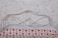 Pleasingly Shaped All Iron Irish King Size No End Bed (5 of 5)