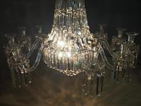 19th Century Crystal Tent & Waterfall Chandelier (7 of 18)