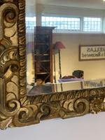 Antique Carved Giltwood Mirror (4 of 5)