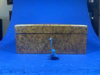 19th Century French Burr Cedar Inlaid Box (8 of 11)