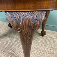 Edwardian Walnut Wind-out Extending Antique Dining Table (5 of 9)