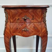 French Kingwood Bedside Tables c.1930 (5 of 6)
