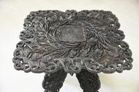 Anglo Indian Carved Table (10 of 11)