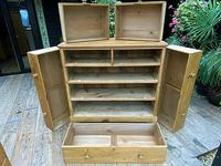 Fabulous & Very Large Old Victorian Pine Chest of Drawers (7 of 8)