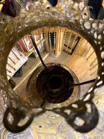 19th Century Islamic Brass Lamp (3 of 7)