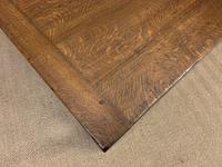 Large Oak Jacobean Revival Refectory Table (11 of 12)