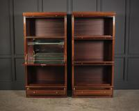 Pair of Stacking Library Sectional Bookcases (3 of 10)